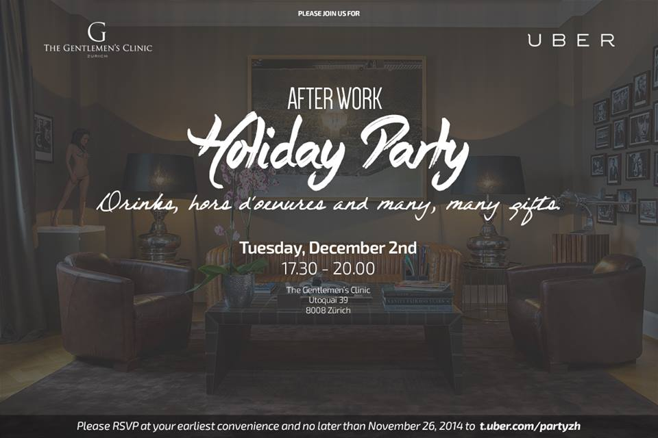 Uber After Work Holiday Party