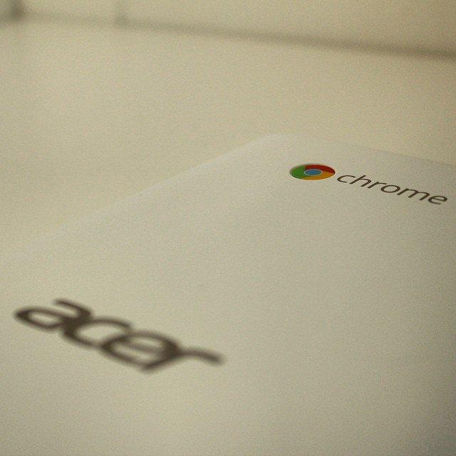 Neues Spielzeug aus dem Hause Acer #Chrome #ChromeBook ein Laptop…
