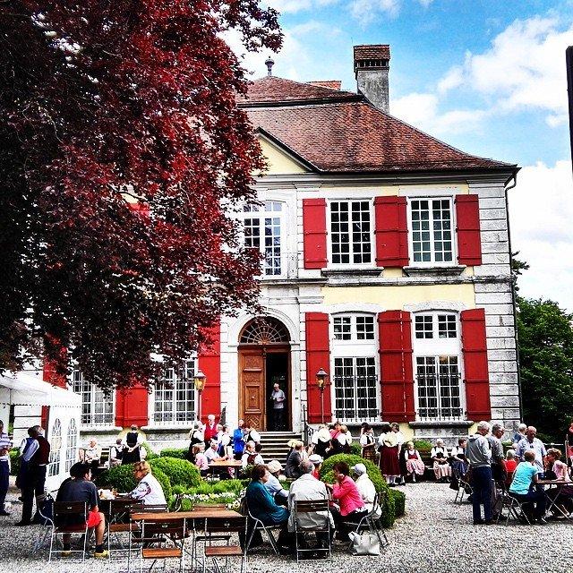Das Historische Museum Blumenstein in Solothurn #barocken #Museum #solothurn #Schloss…