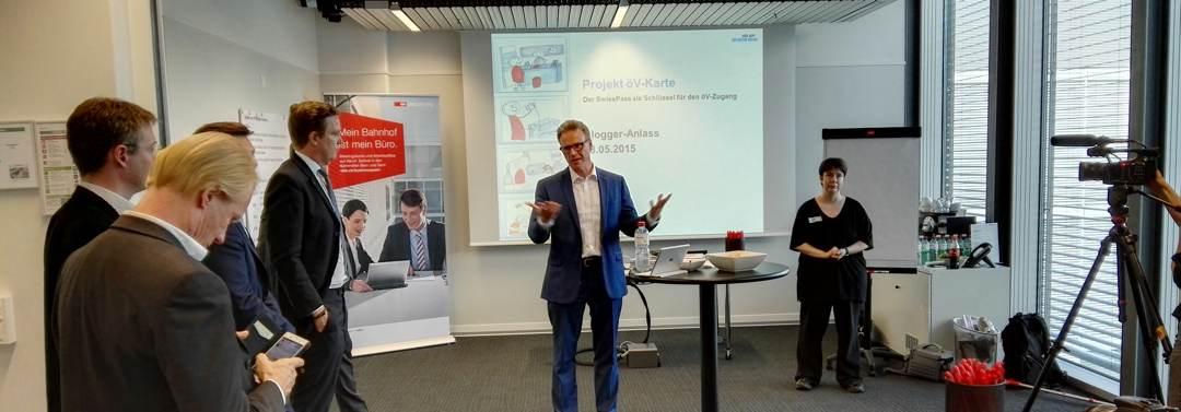 Unterwegs mit dem SBB CEO Andreas Meyer - Thema SwissPass und #SBBsome