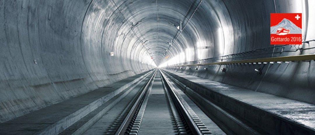 362 Tage bis zur ersten Fahrt durch den längsten Eisenbahntunnel der Welt