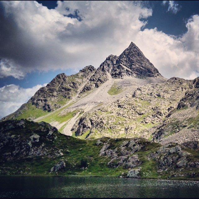 Das wahrscheinlich letzte Bild von den Crap Alv Seen inhellip