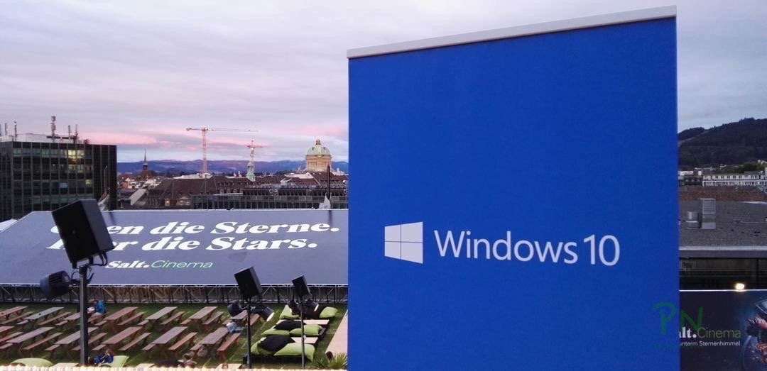 Windows 10 Launch in Bern
