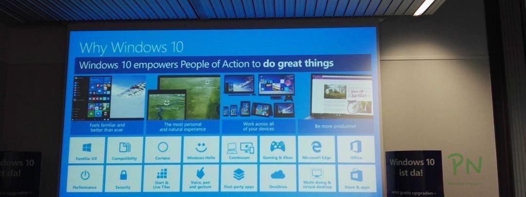 Windows 10 Launch in Bern