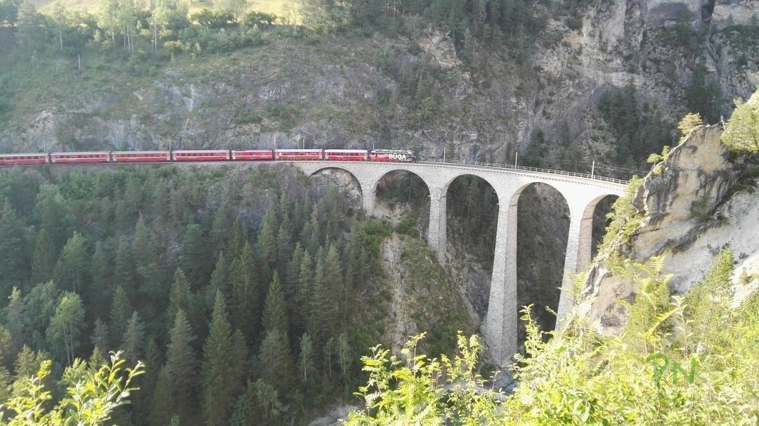 Ferien in Graubünden Filisur – Landwasserviadukt