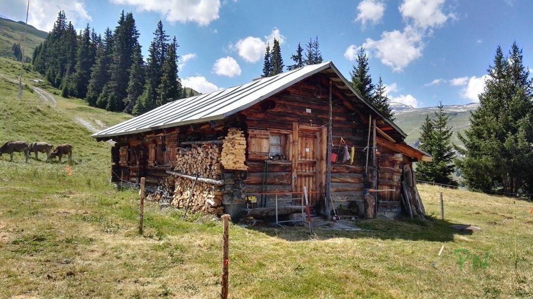 Ferien in Graubünden Filisur - Alphütte