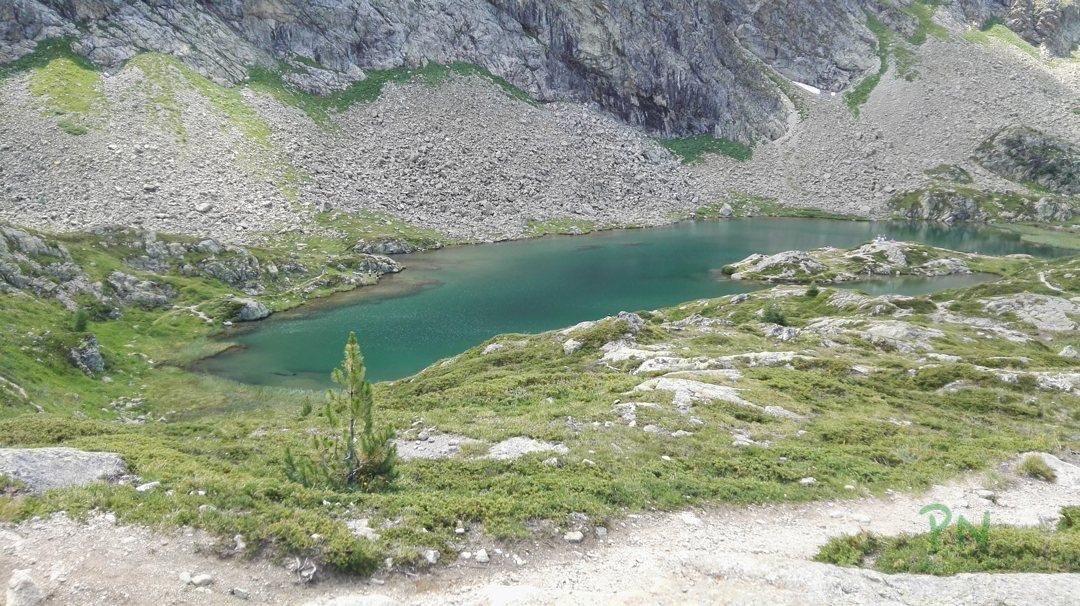 Ferien in Graubünden Filisur - Crap Alv See
