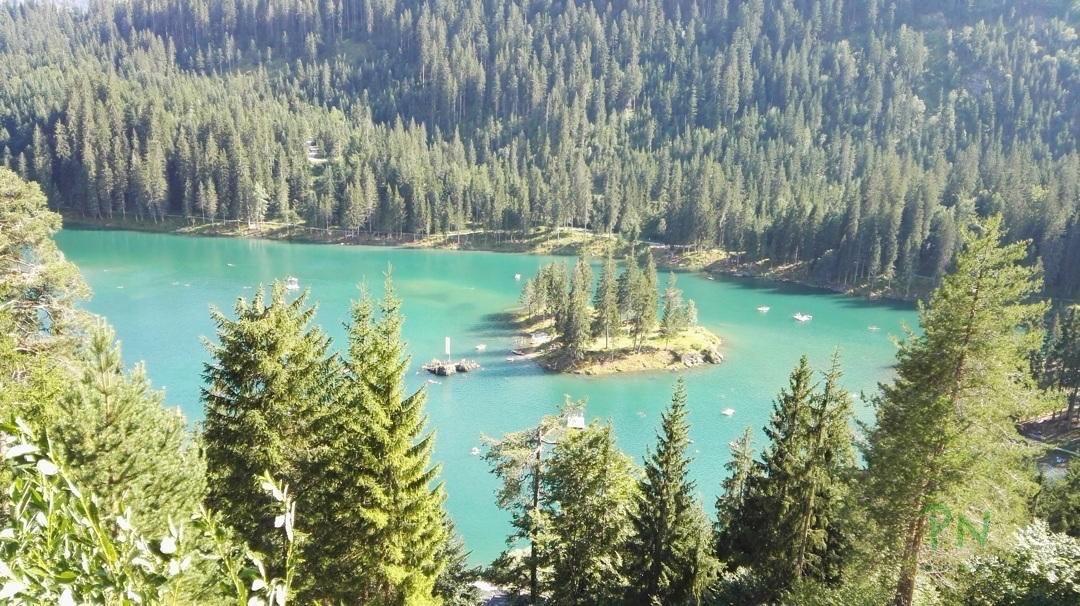Ferien in Graubünden Filisur - Caumasee