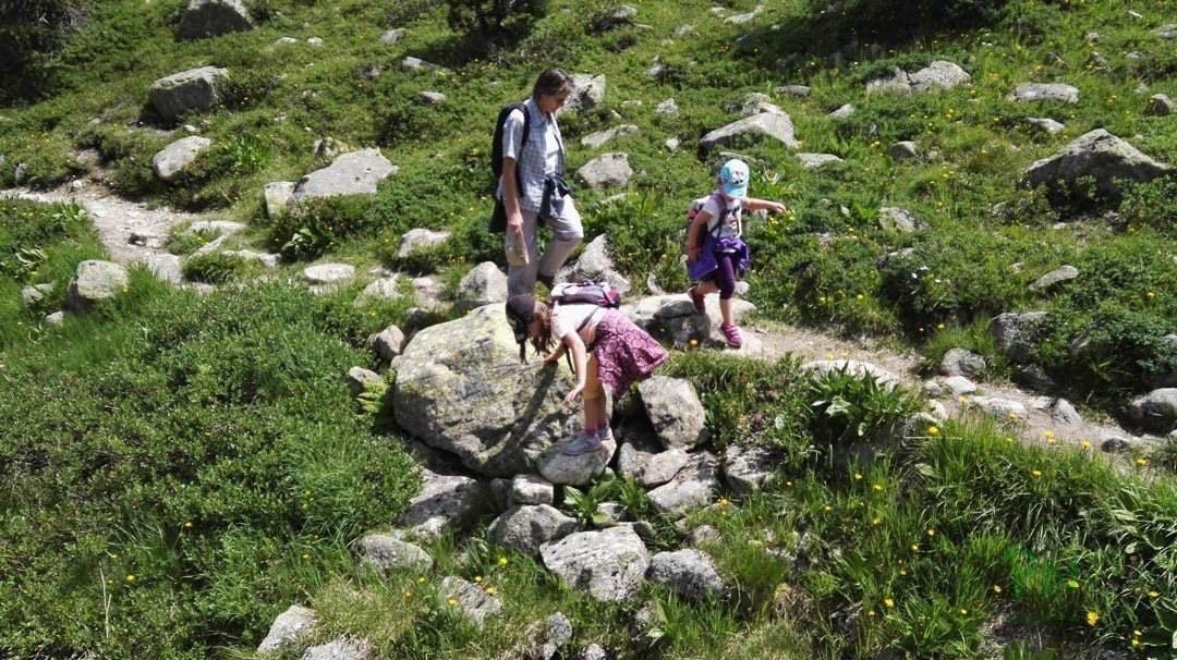 Ferien in Graubünden Filisur - Wanderung Albula