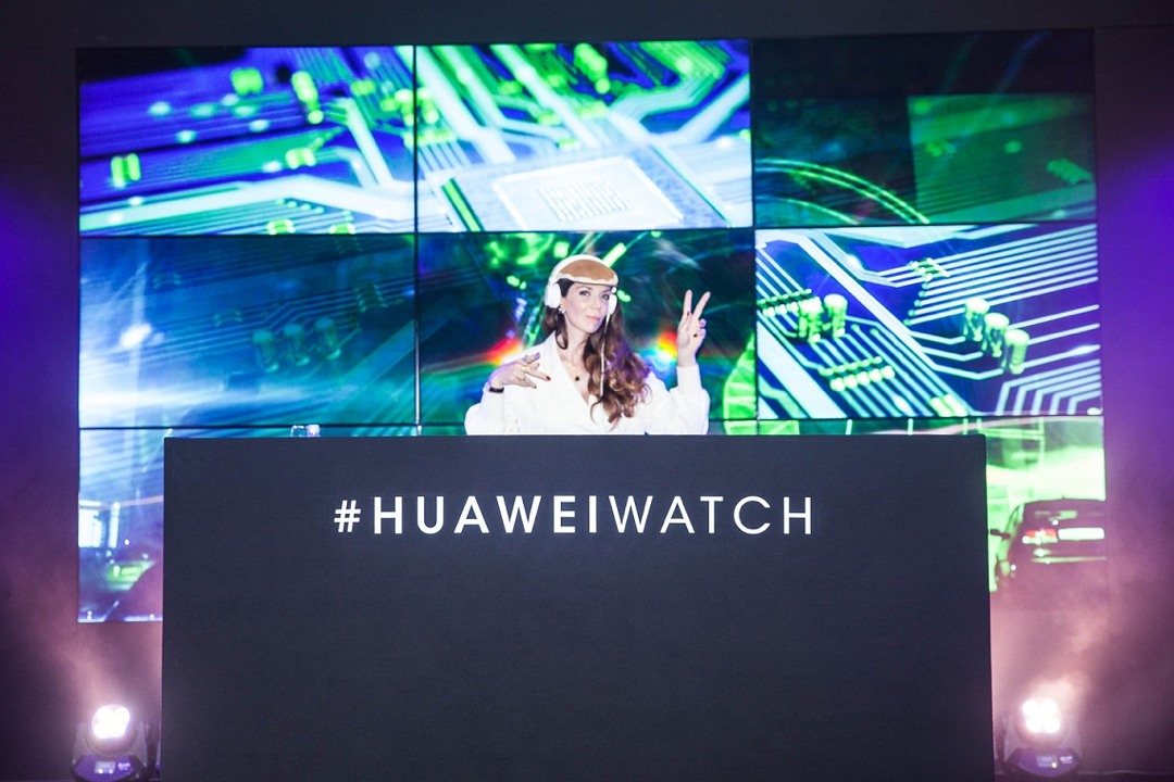 Paris mit Huawei - Watch & Fashion Event