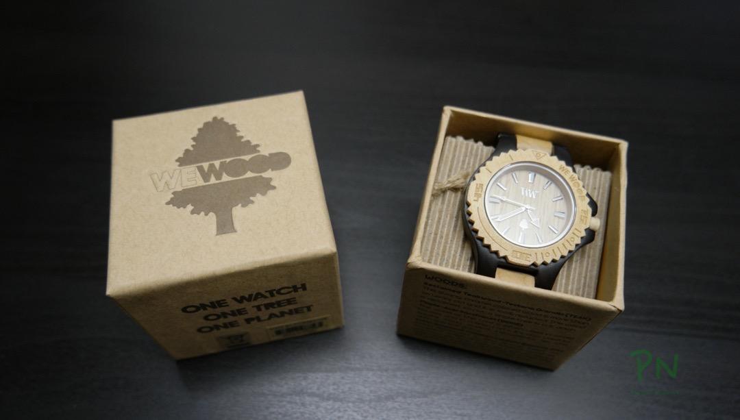 WeWood Date black/beige – die Uhr aus Holz