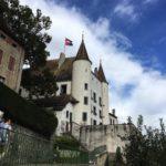 Das Schloss in Nyon