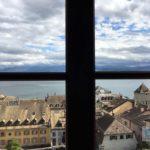 Ausblick aus einem der Schlosszimmer