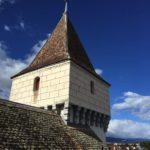Eine der Türme vom Schloss