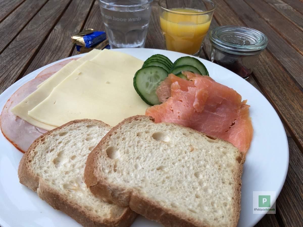 Das Frühstücksbuffet im Hotel New Berlin
