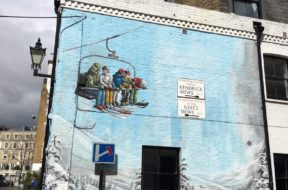 London 2016 mit Huawei – Street-art in der Stadt London