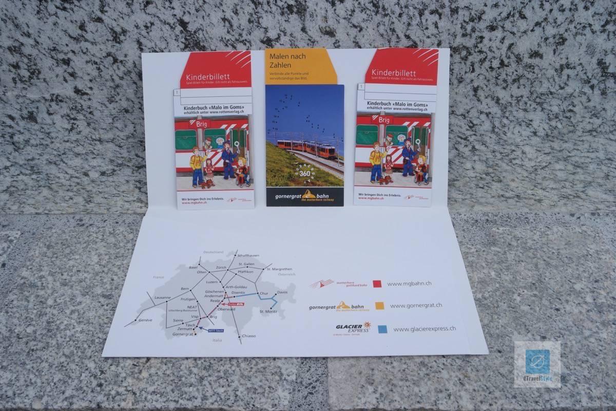 Matterhorn-Gotthard-Bahn - Kinder Billette