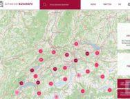 Schweizer Bahnhöfe – StartSeite