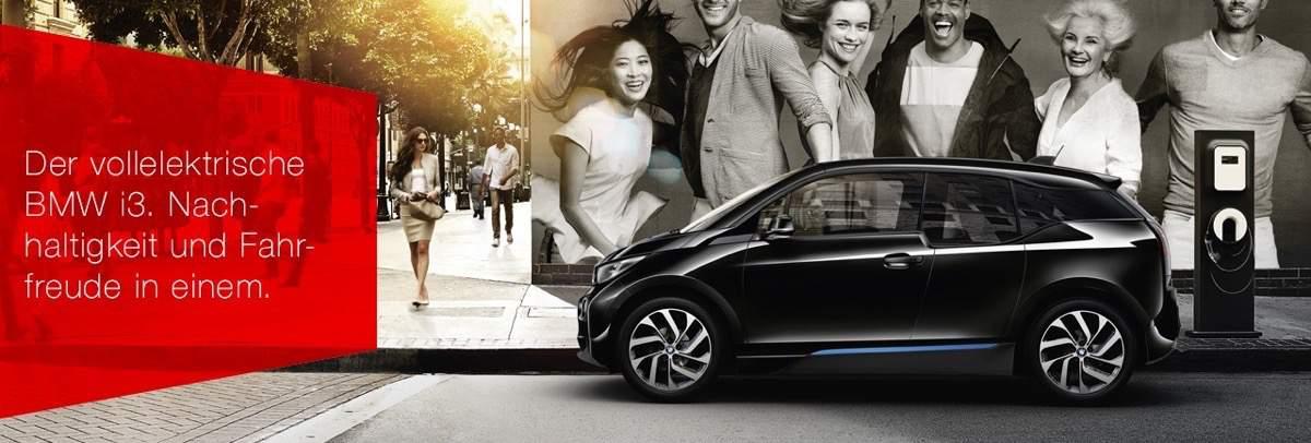 BMW i3 inklusive Versicherung, Aufladestation