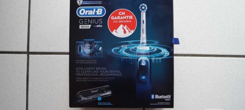 Oral-B Genius 9000 – Black CH-Edition