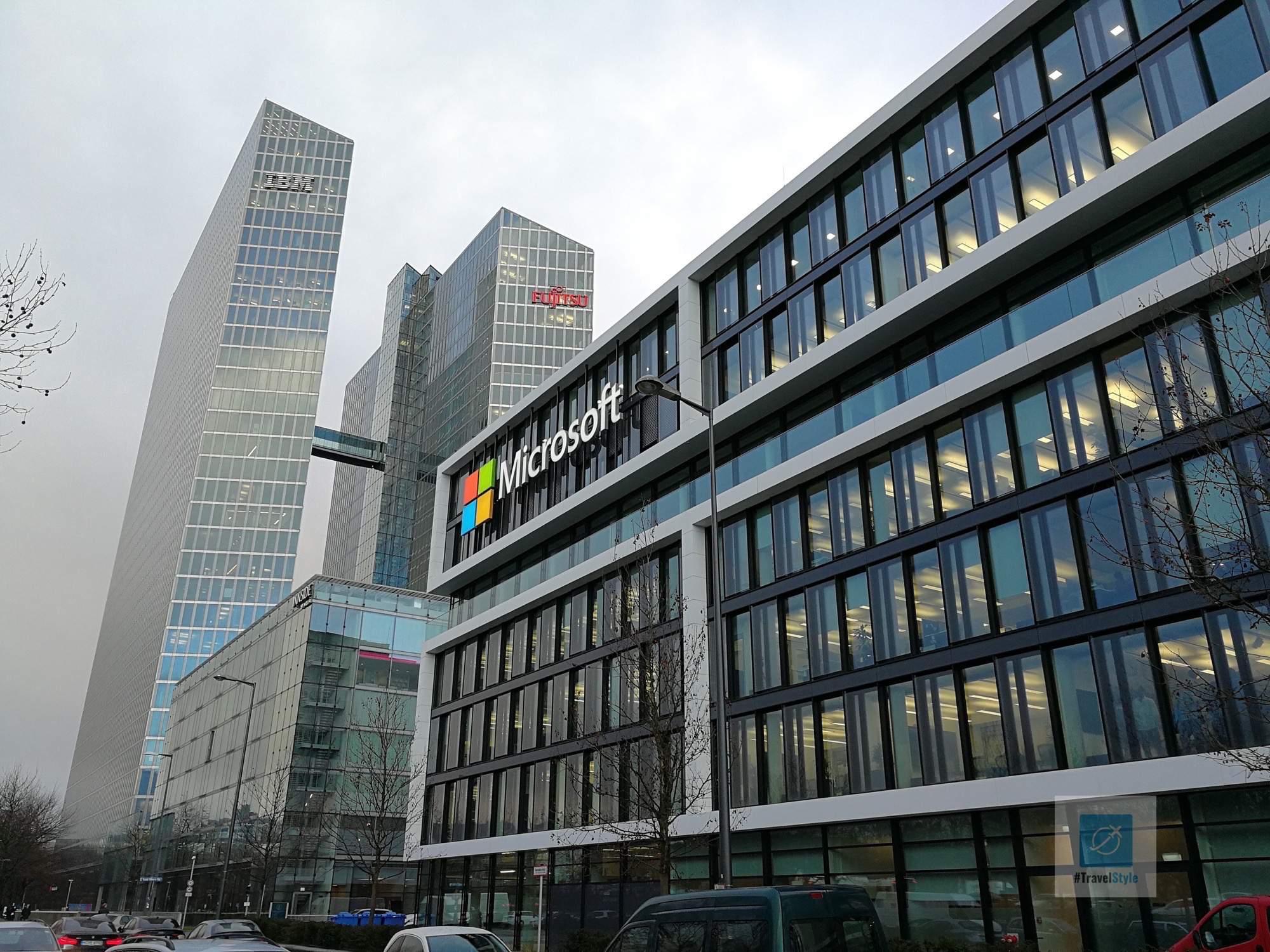Microsoft in guter Gesellschaft - IBM und Fujitsu