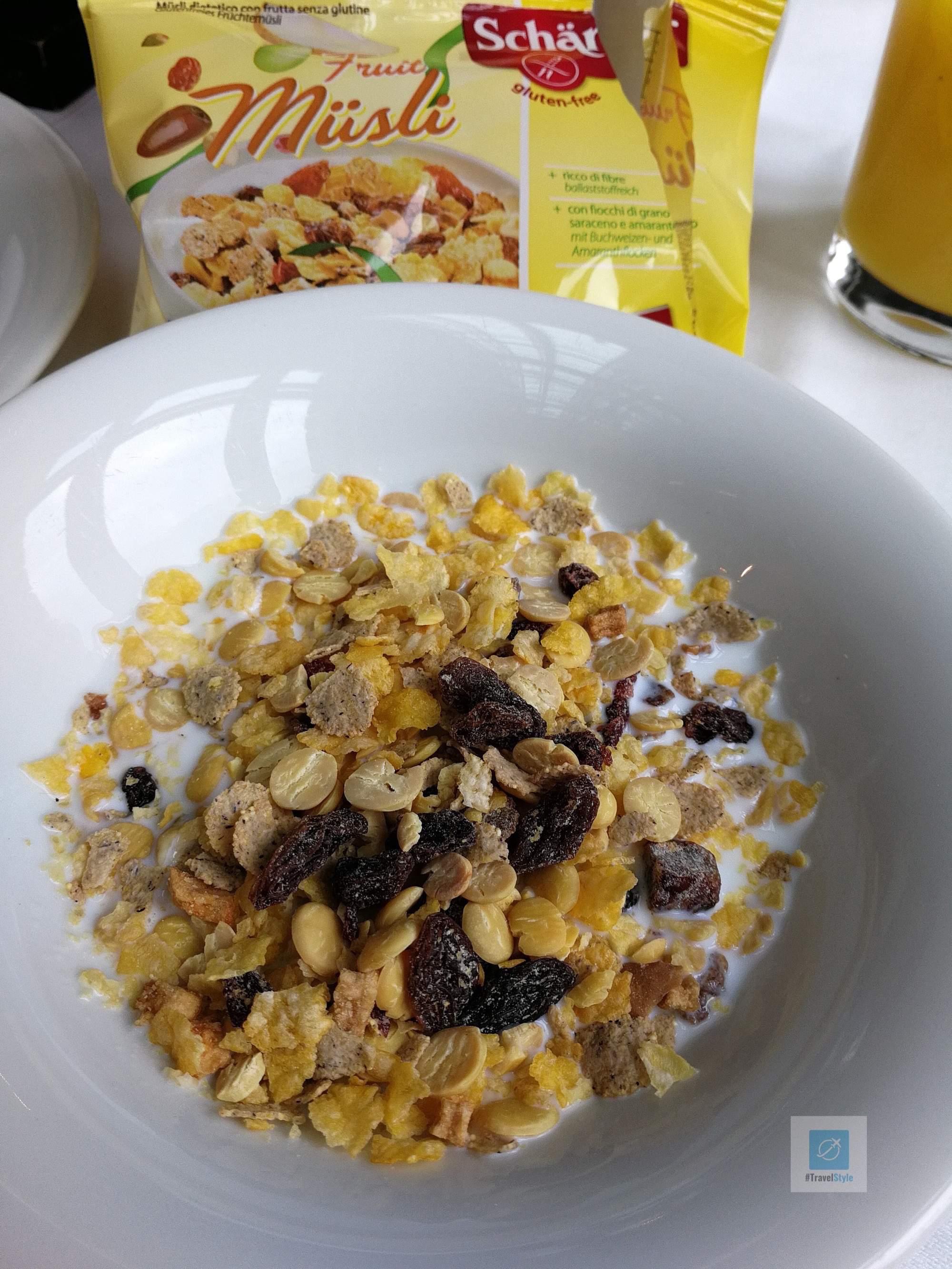 Frühstück am zweiten Tag im Sofitel München