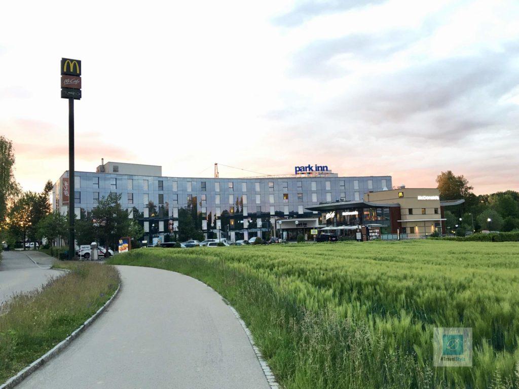 Unser Hotel für die erste Nacht - Park Inn in Rümlang