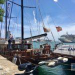 Unser Boot für die Hafenrundfahrt