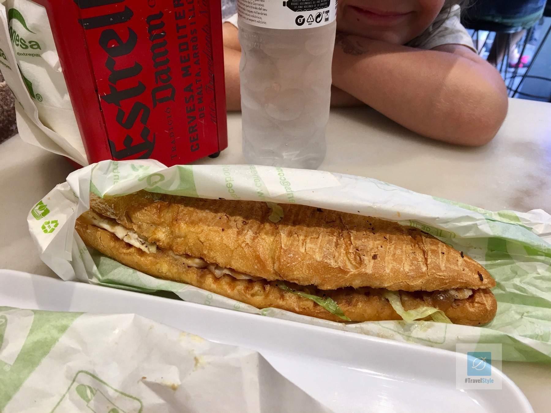 Die Sandwiches von Conesa Entrepans müssen einfach sein