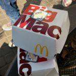 Big Mac von Mc Donalds Spanien