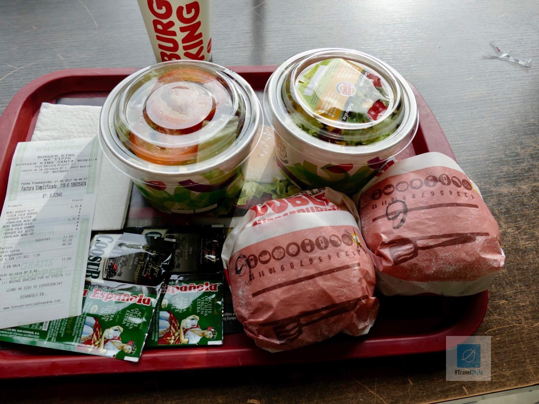 Der glutenfreie Burger im Burger King