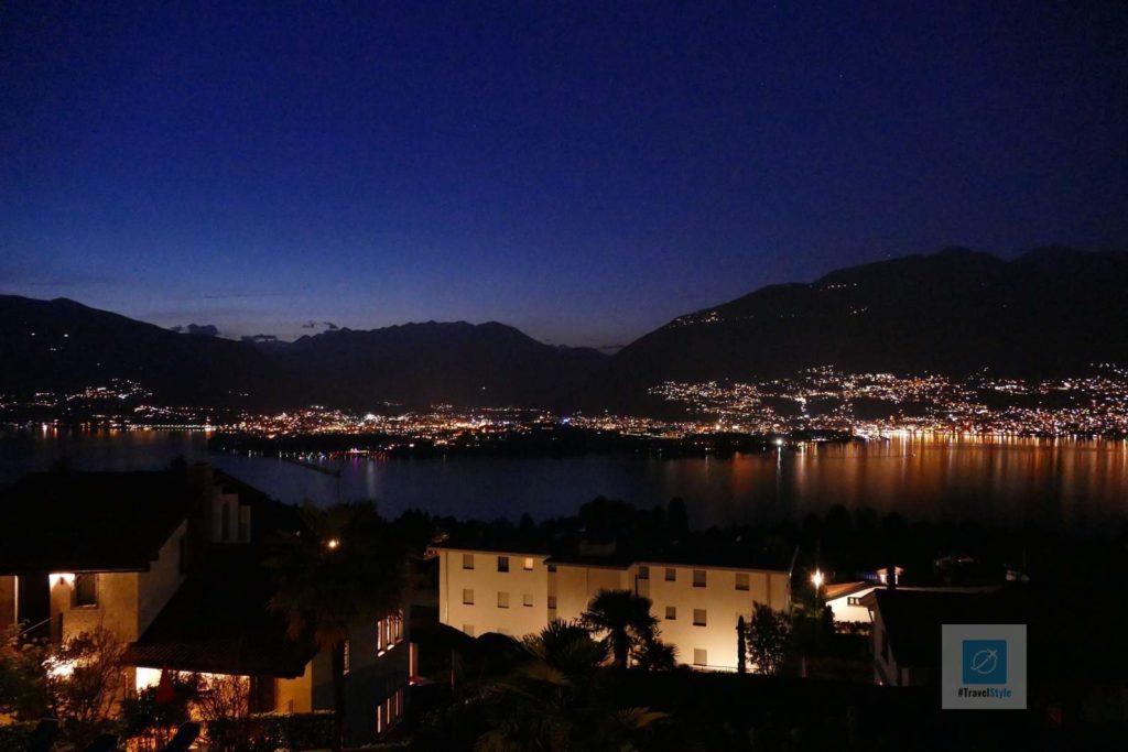 Seesicht bei Nacht von Piazzognia