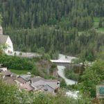 Ausblick runter ins Dorf
