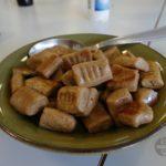 Die Gnocchi's mit Kastanien-Mehl
