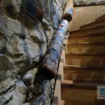 Wasserrohre aus Holz