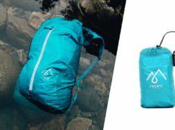 Sea x Sky – wasserfester Rucksack in kompakt