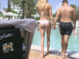 FlexSafe Plus – mobiler Safe für den Strand/Badi
