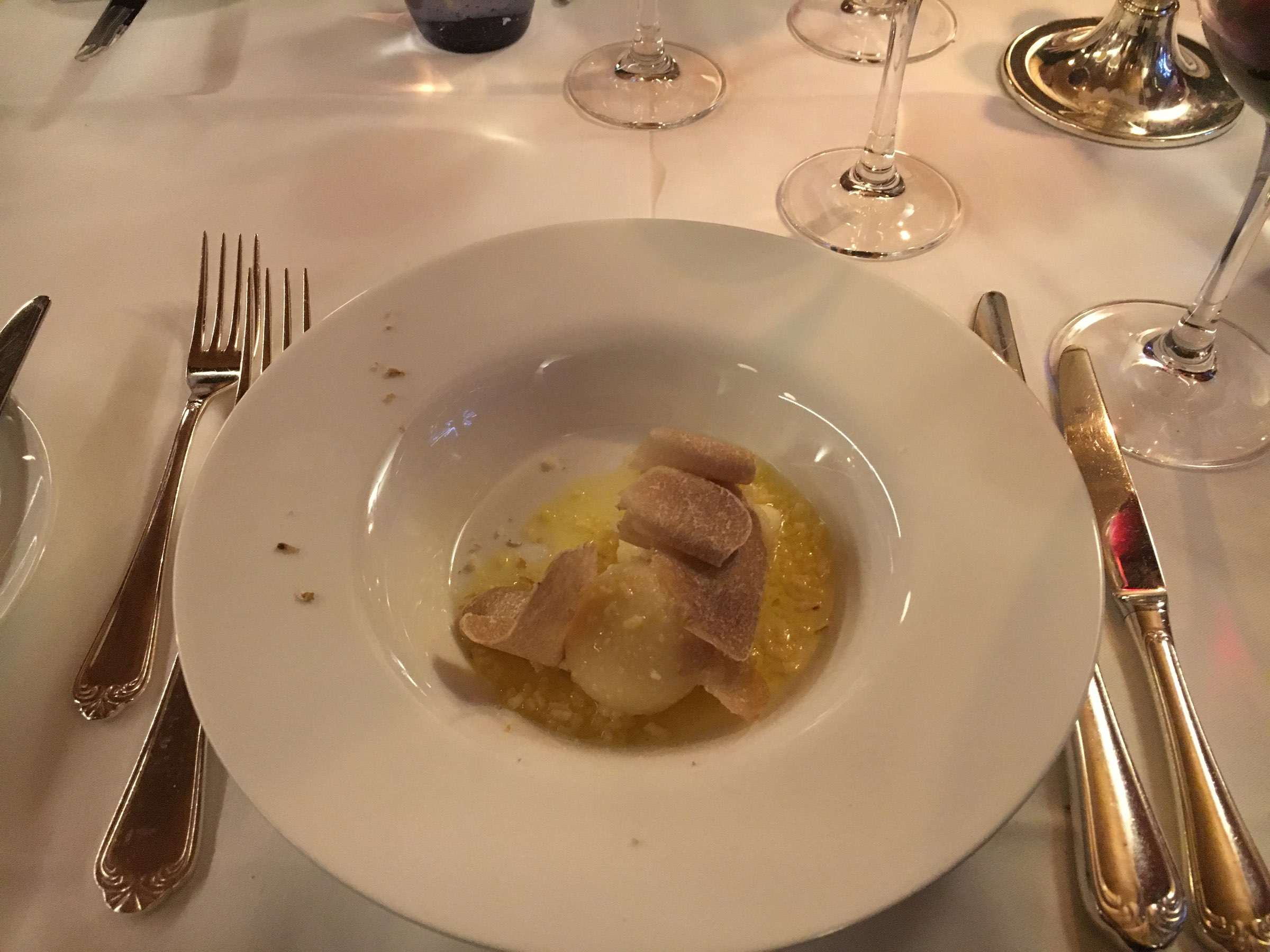 Gnocchetti mit weissem Alba Trüffel von Roberto (Bobo) Cerea, Ristorante da Vittorio, Bergamo