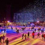 Auch bei Schnee ein schönes Event
