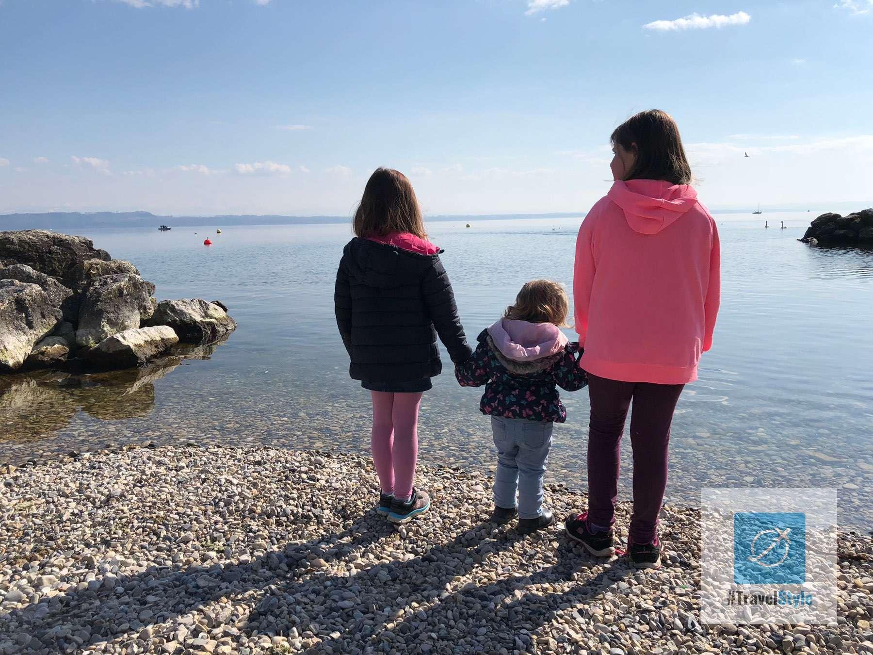 Blick auf den See in Neuchâtel