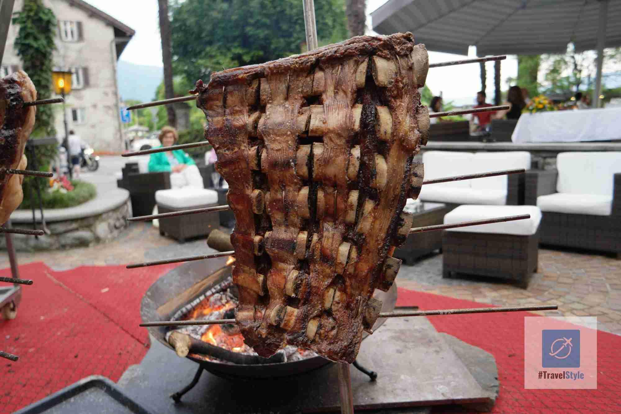 Lecker Fleisch vom Grill