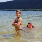 Meine beiden grossen Mädels im Wasser