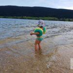 Shanaya im Lac de Joux