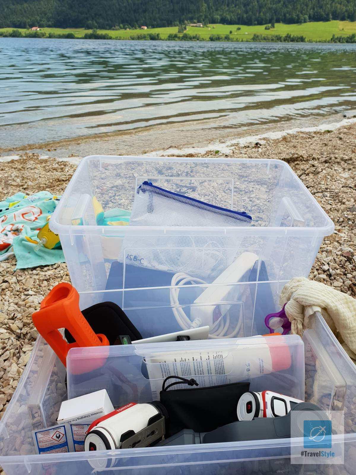 Die einen gehen An den Strand Baden, ich pack meine Gadgets aus