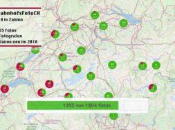 #BahnhofsFotoCH's 2018 in Zahlen