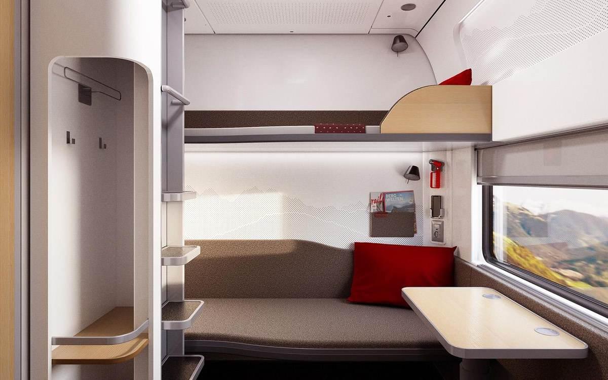 ÖBB Nightjet: Neue Schlafwaggons für mehr Reise-Komfort