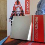 Neues mobiles Laptop in Zusammenarbeit mit Ducati