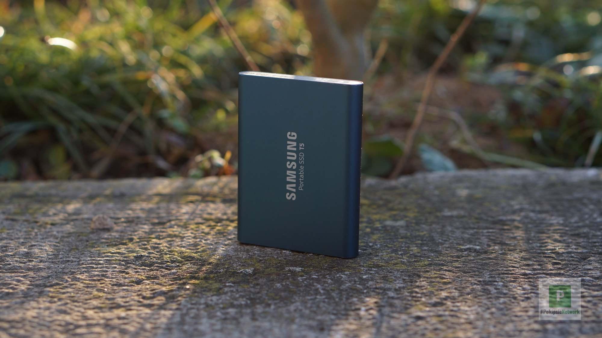 Meine SSD T5