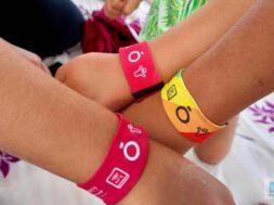 Das Armband fuer mehr Sicherheit mit Kindern