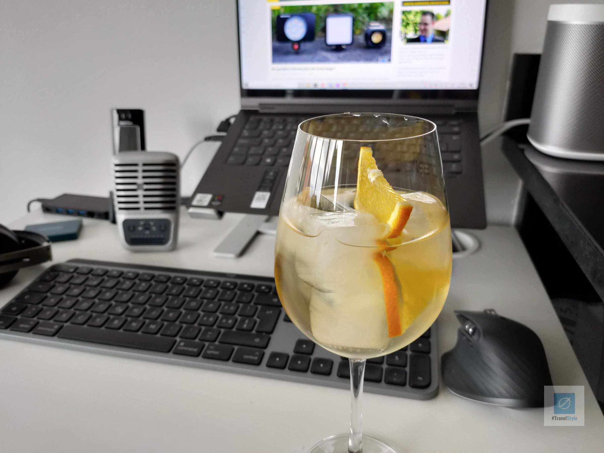 Martini alkoholfrei und Soda